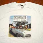 The Silvertones: Ride in My Cadillac T-Shirt