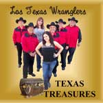 The Los Texas Wranglers Band: Texas Treasures CD cover